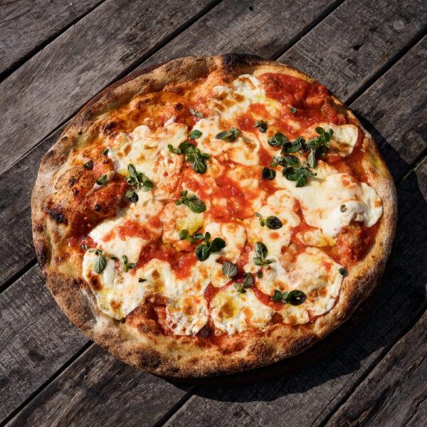 Pre pizza con queso