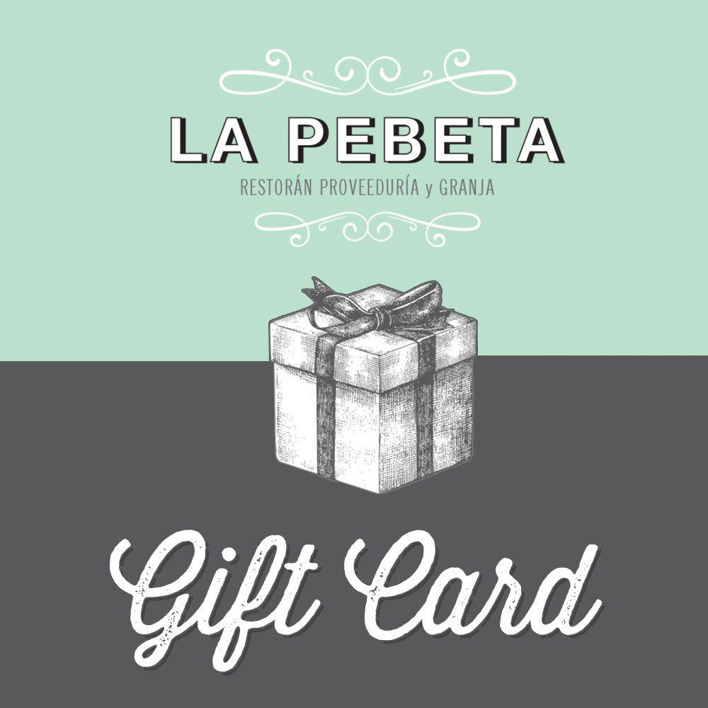 Gift Card La Pebeta